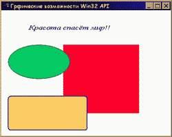 КАК рисовать в Win32 API?